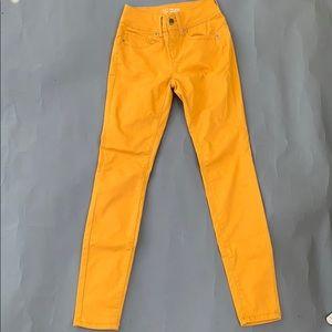 Mustard yellow pants
